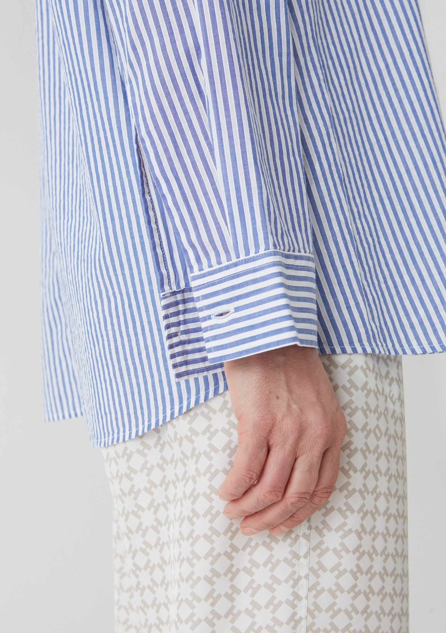Elma shirt Blue Stripe