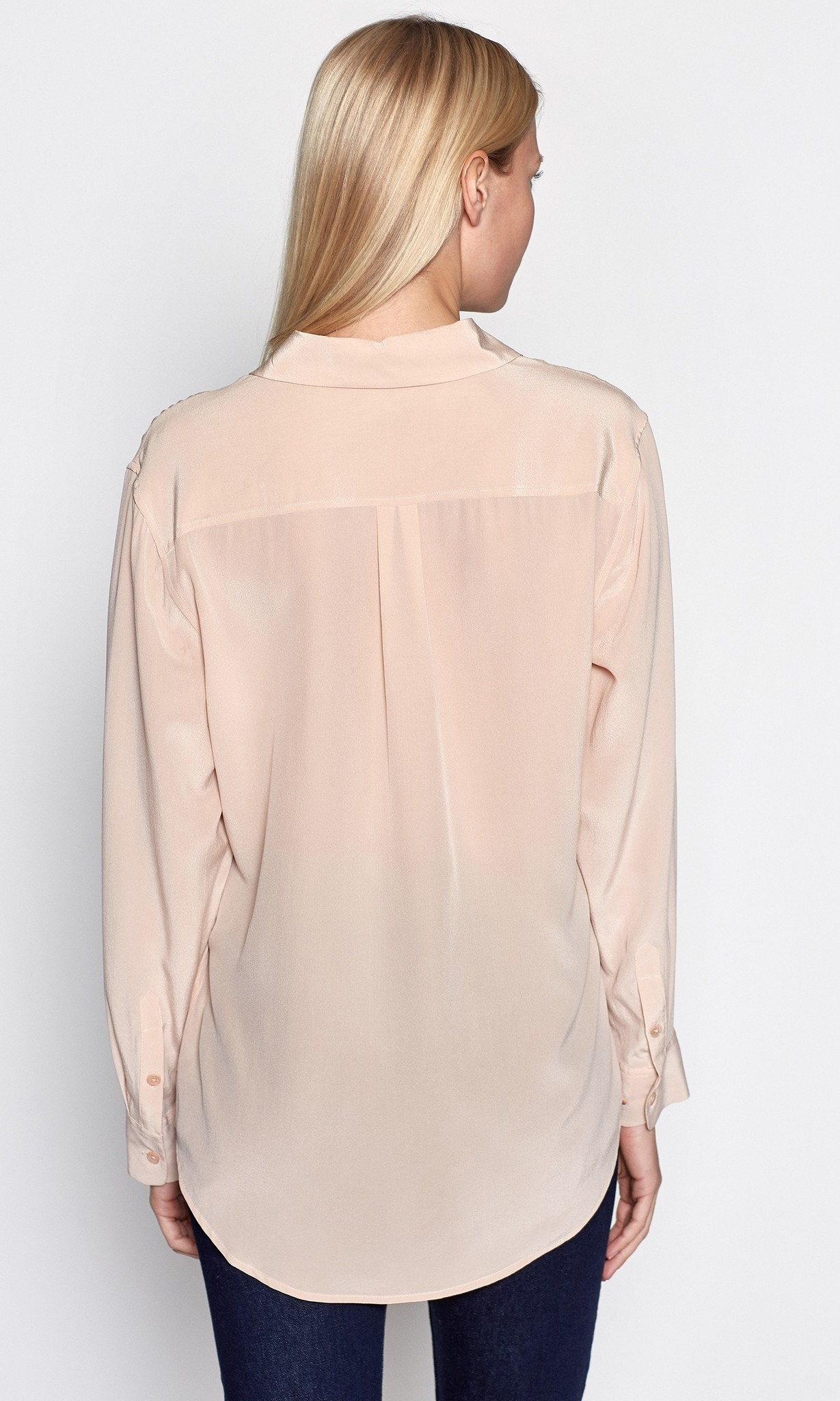 Signature blouse french nude