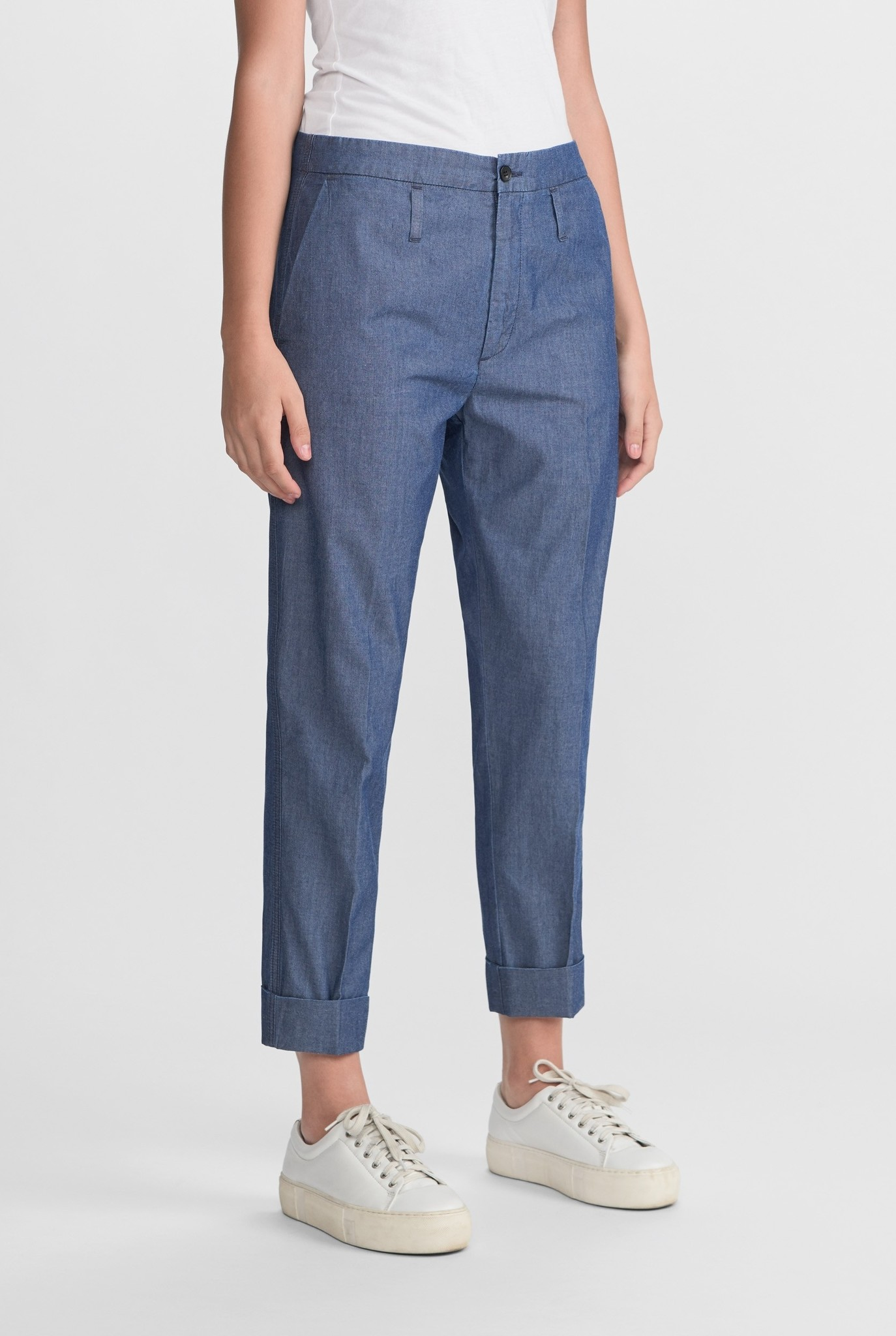 Law trouser Blue indigo