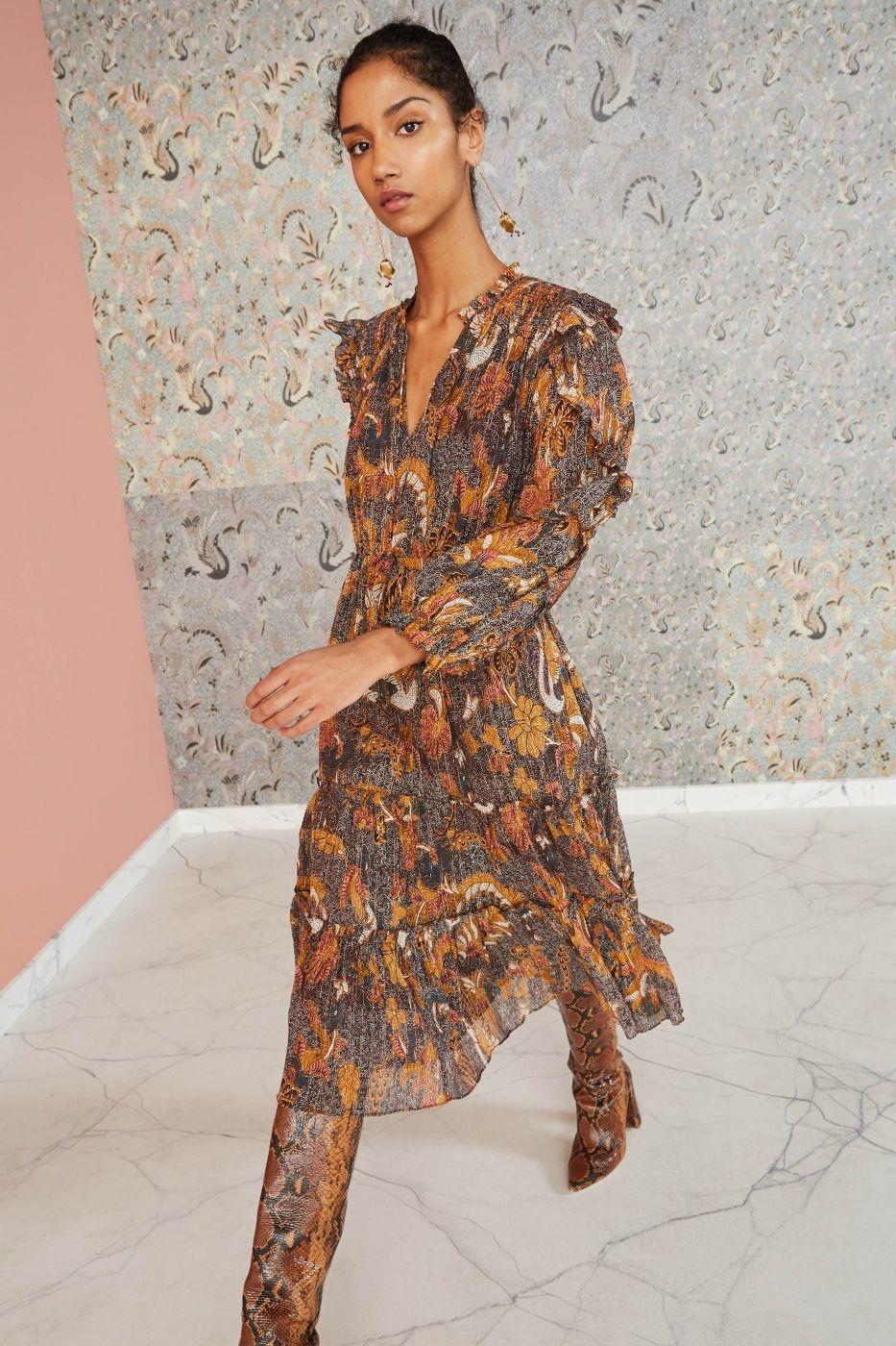 Paola dress Amber