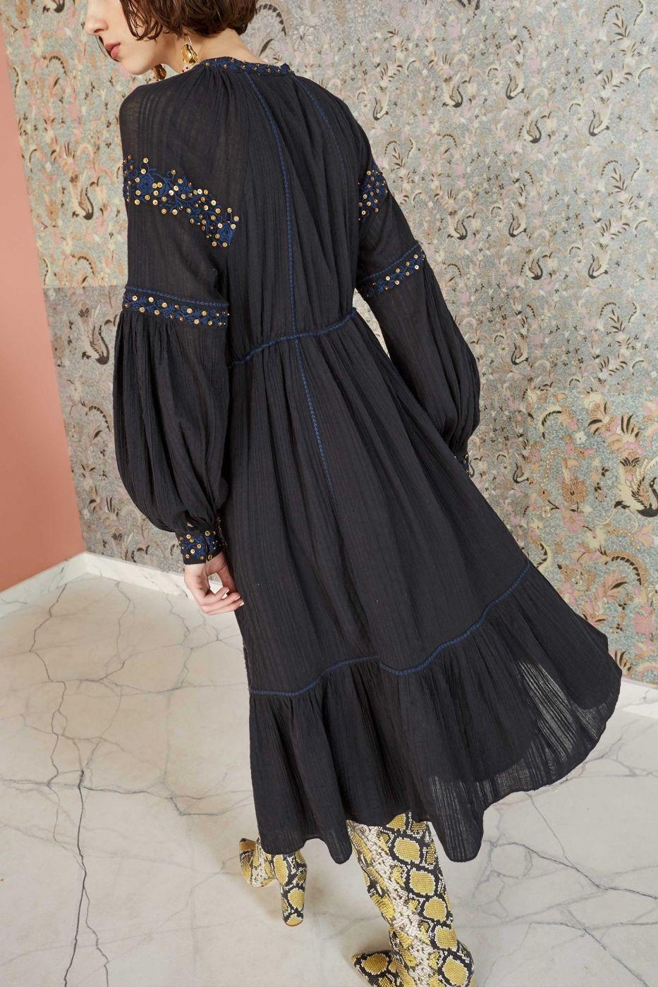 Vanita dress Midnight