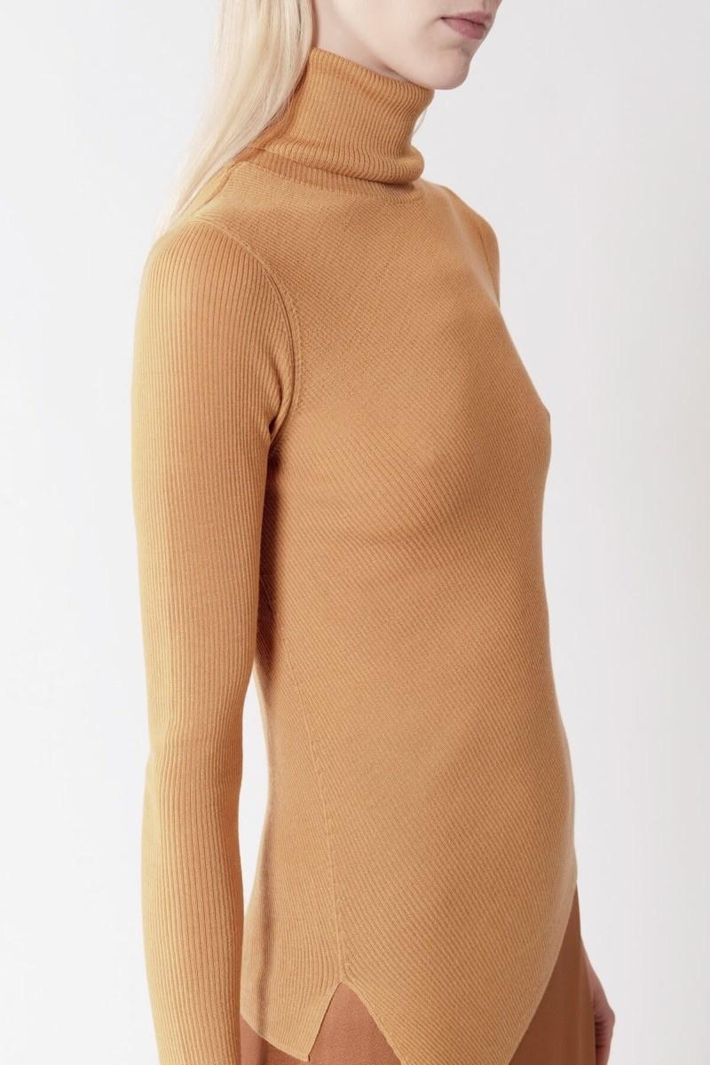 Miley turtleneck sweater Honey