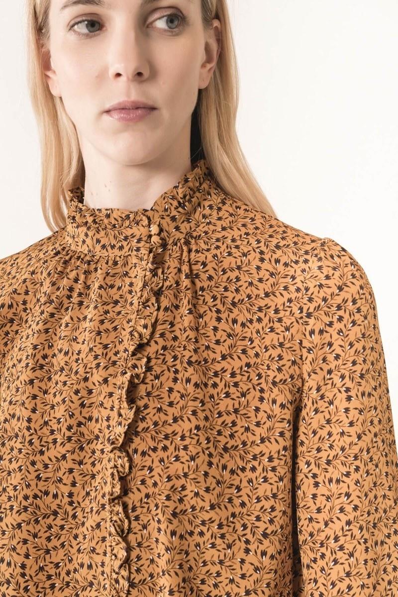 Martin blouse ochre