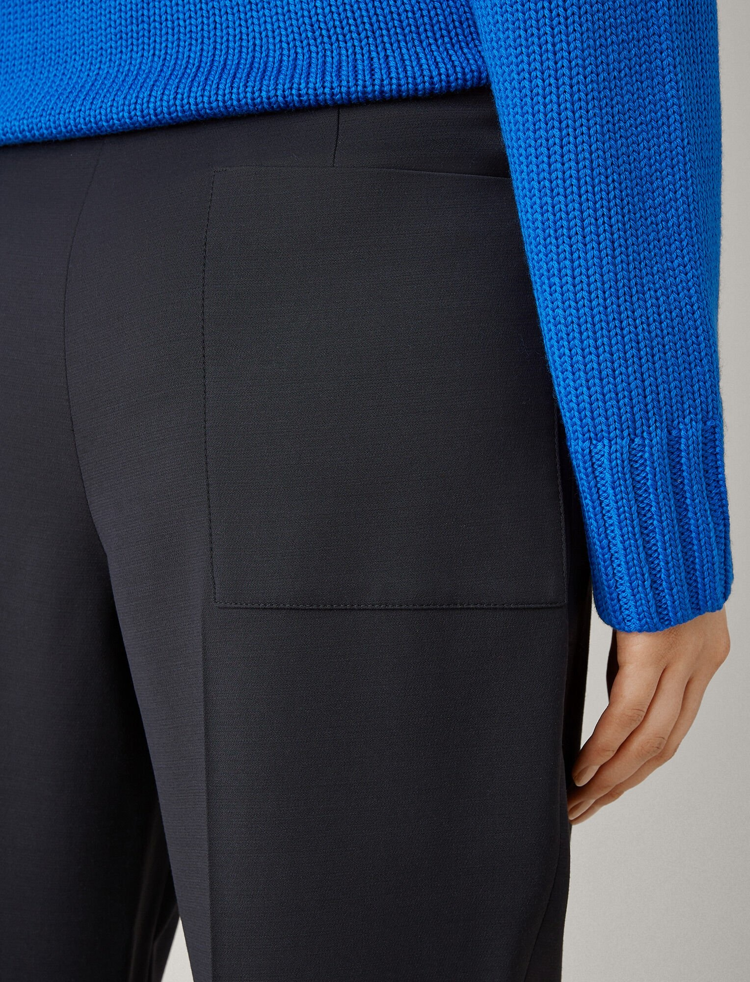 Roge trousers stretch navy