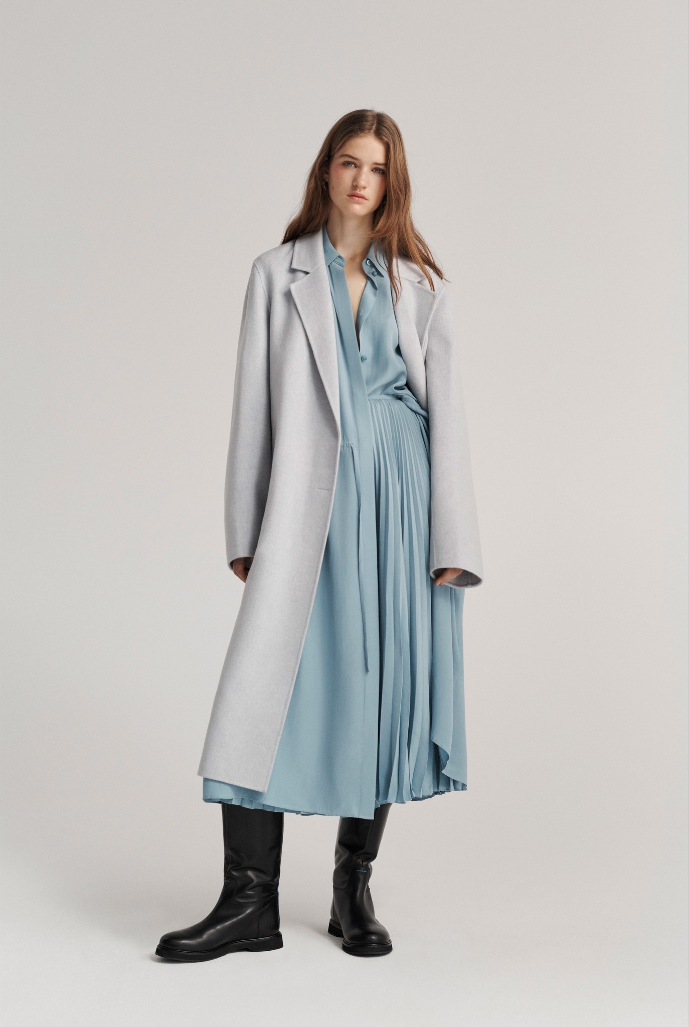 Signe pure coat Grey