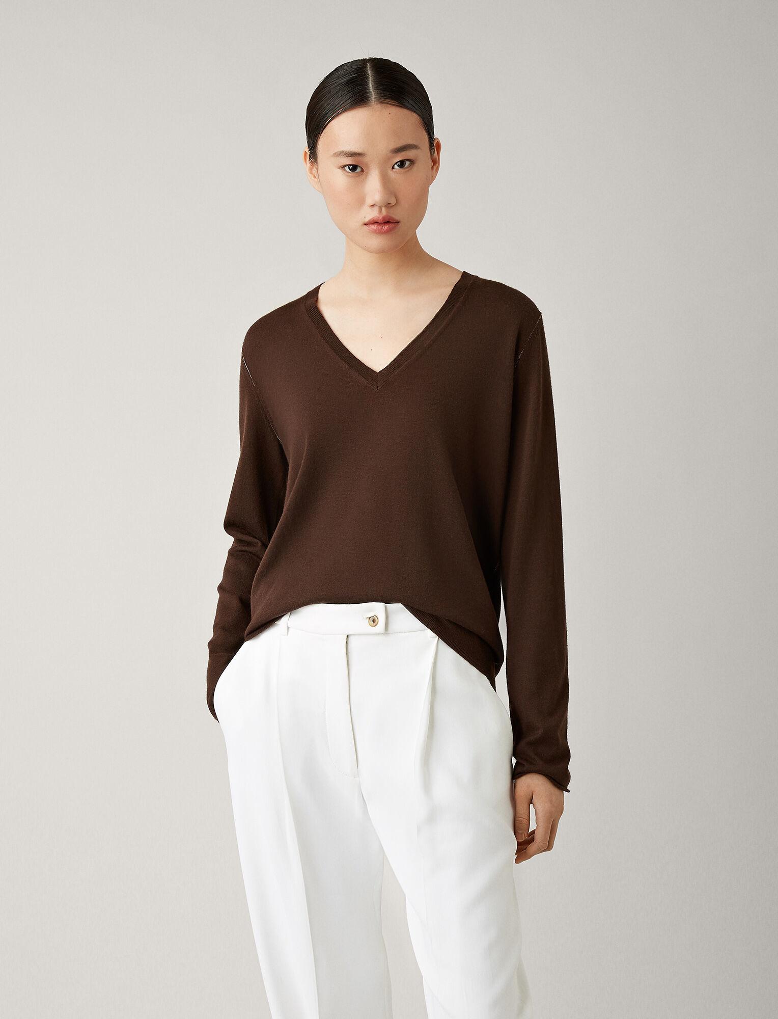 V Neck sweater Elephant