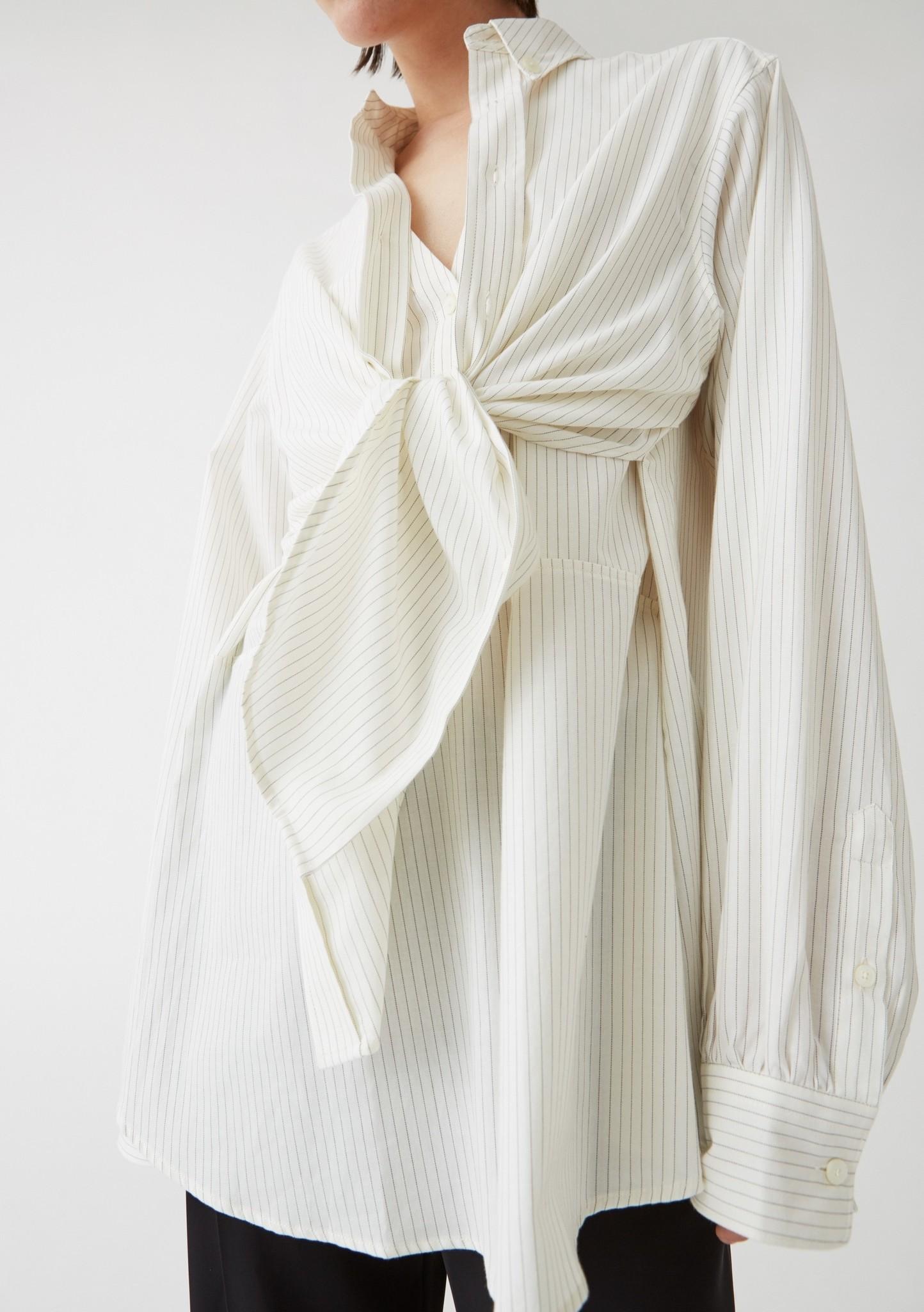Twice shirt Off White pinstripe