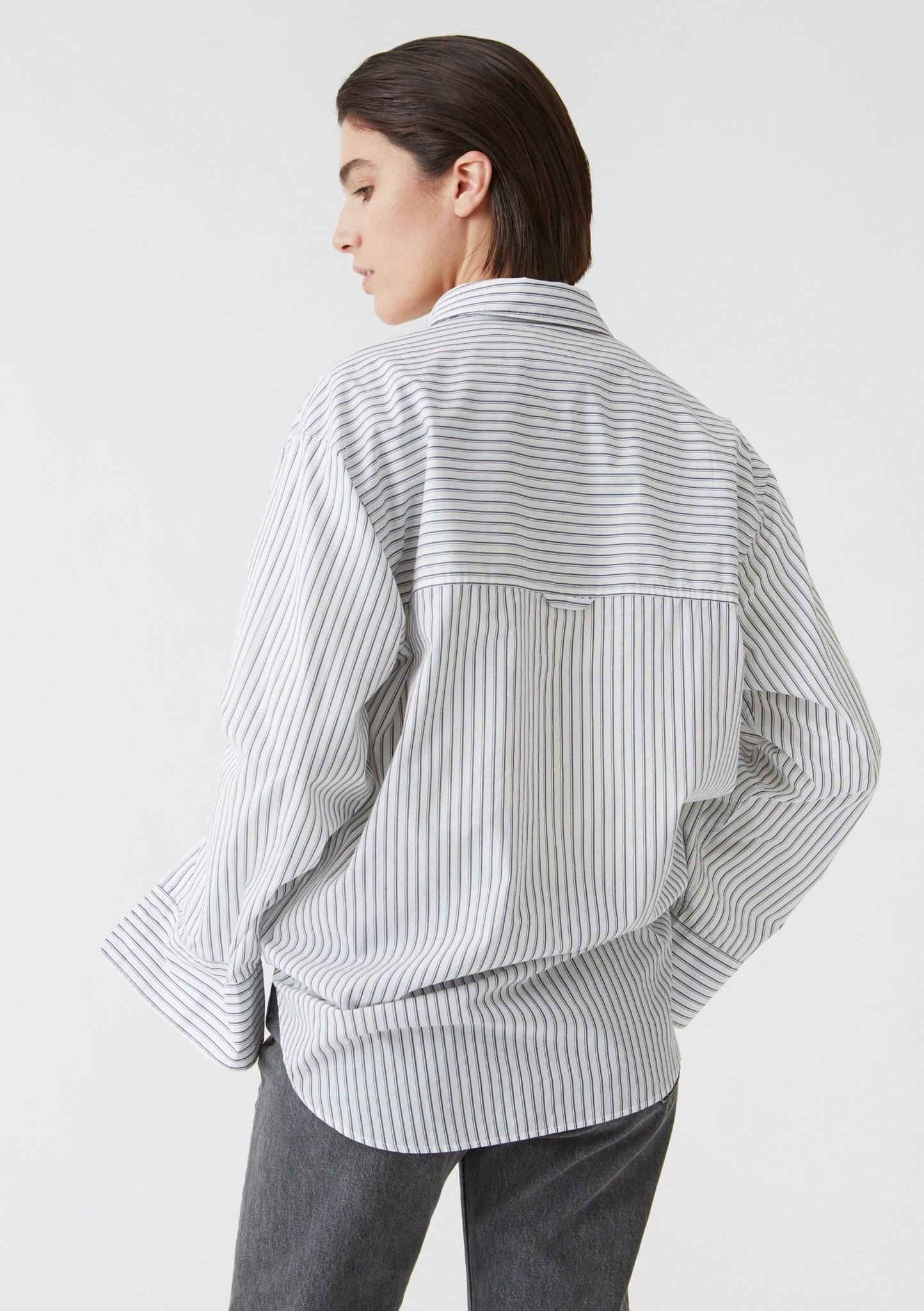 Mash shirt Dk Blue stripe