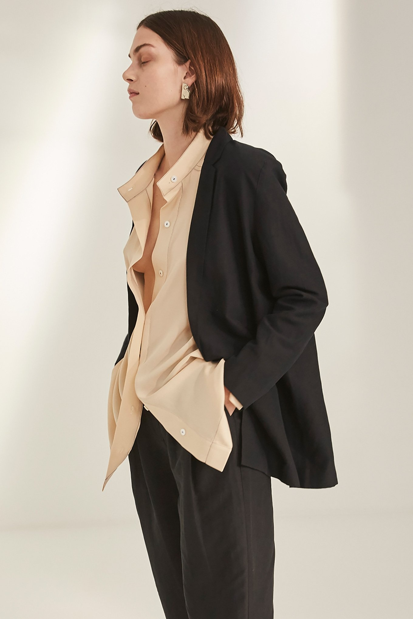 Mena blazer Black