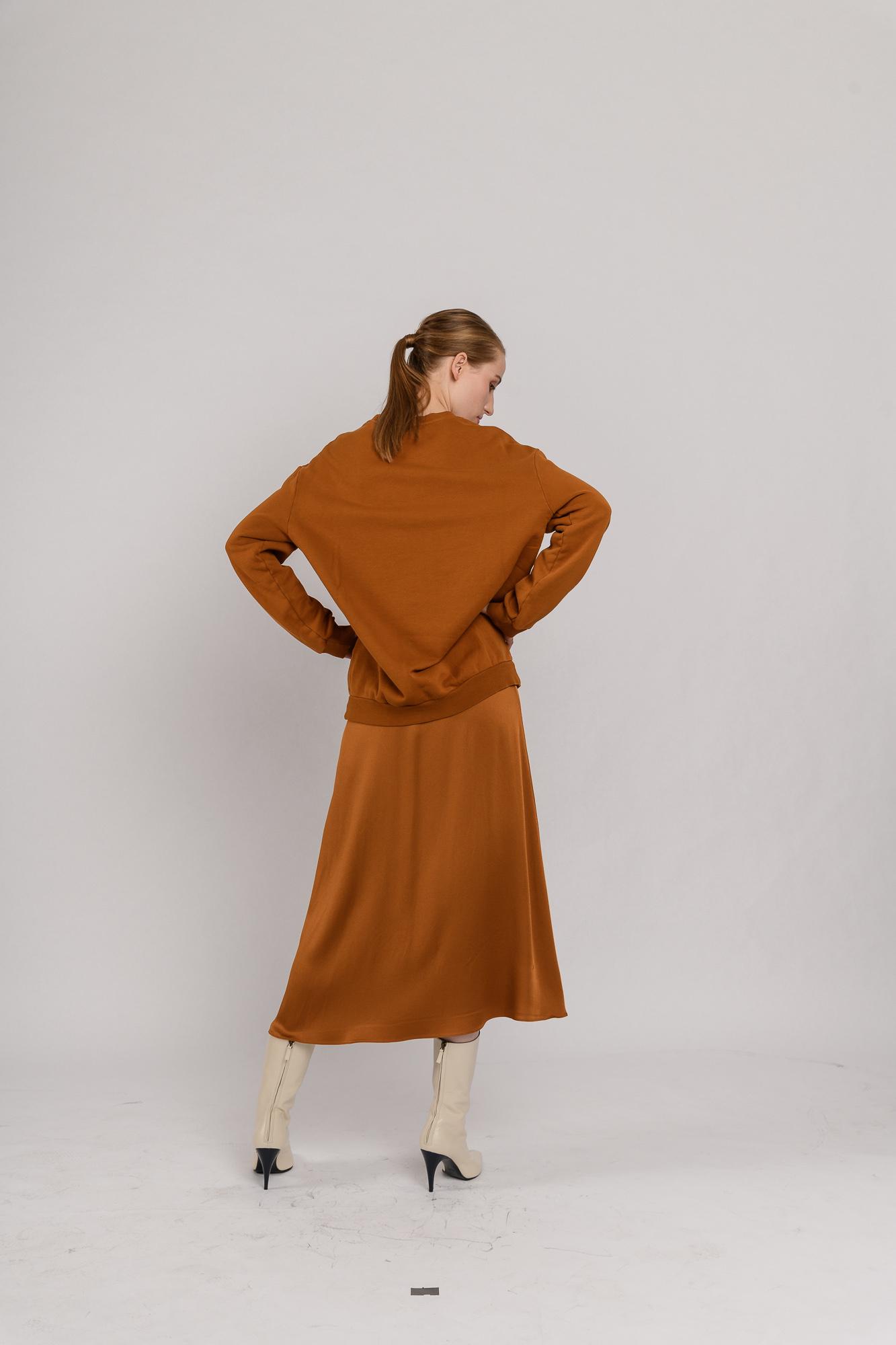 Marie skirt cognac