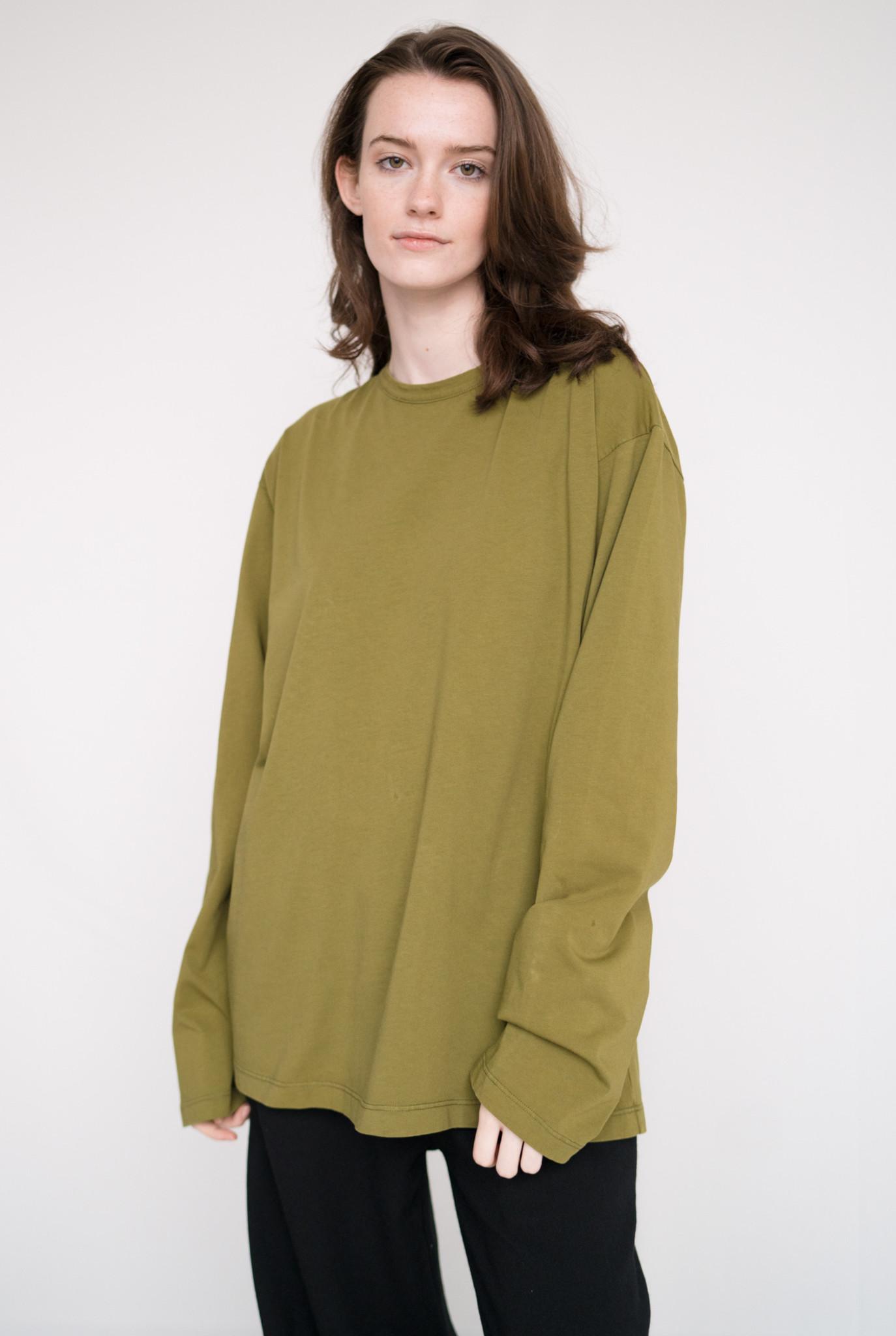 Unisex t-shirt L/S Avocado