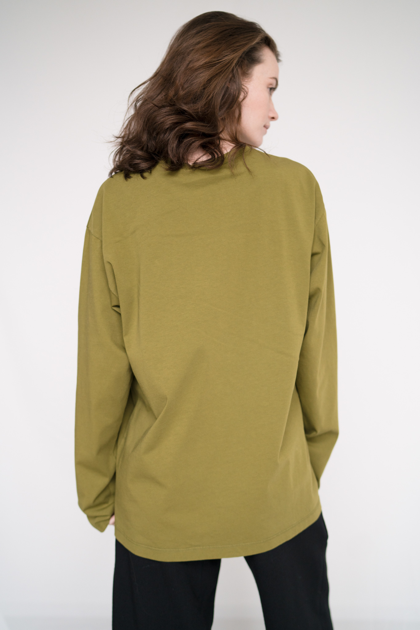 Unisex t-shirt L/S Avocado
