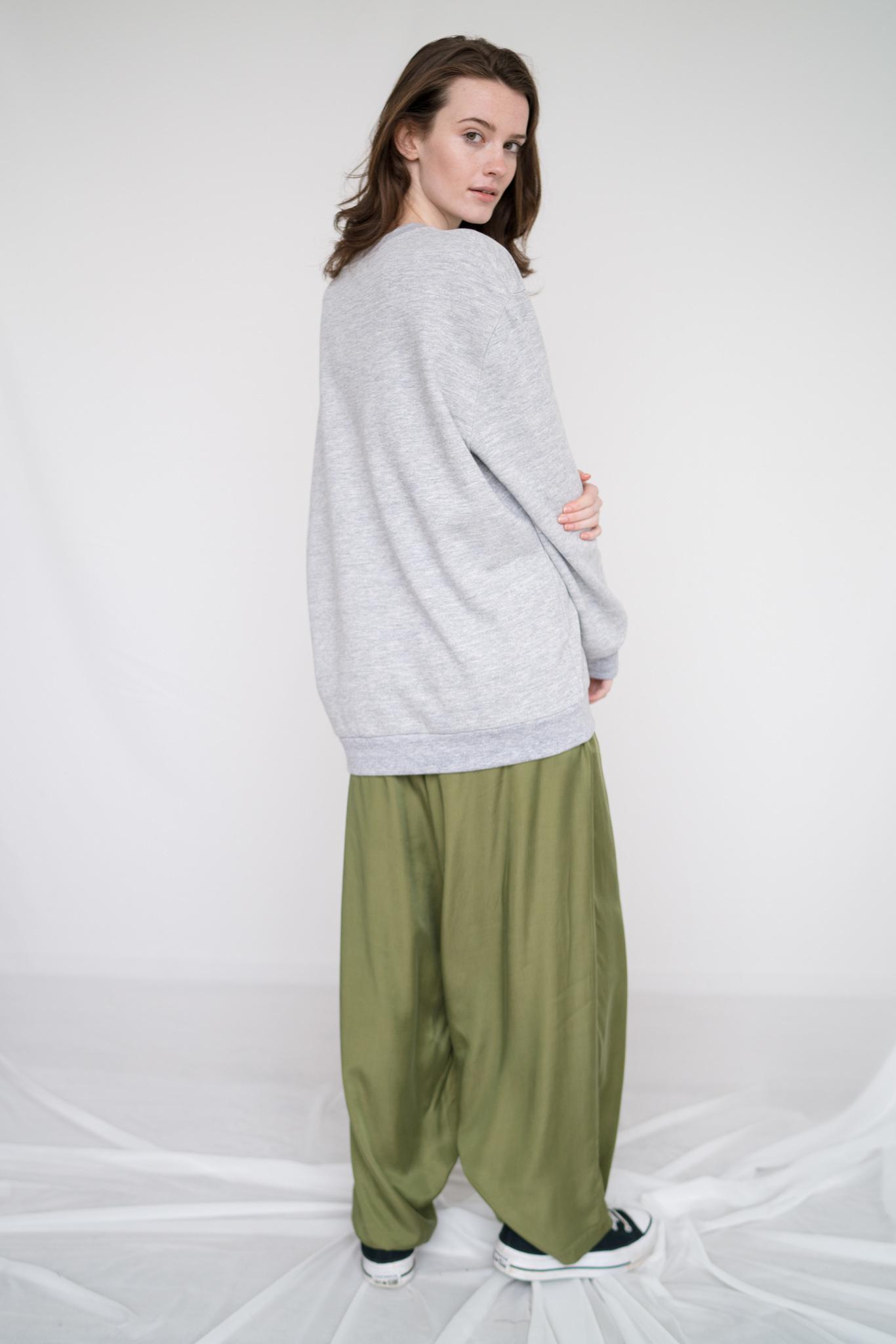 Unisex Crew sweatshirt Heather Grey