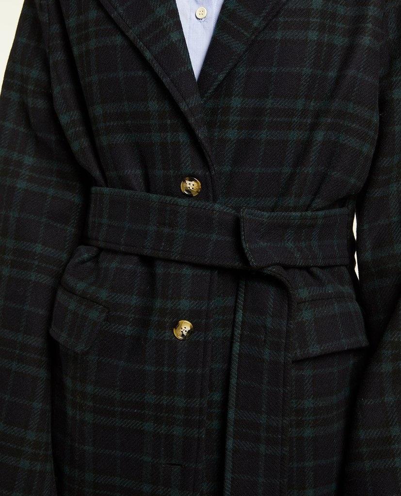 Sub zero coat check Navy Green