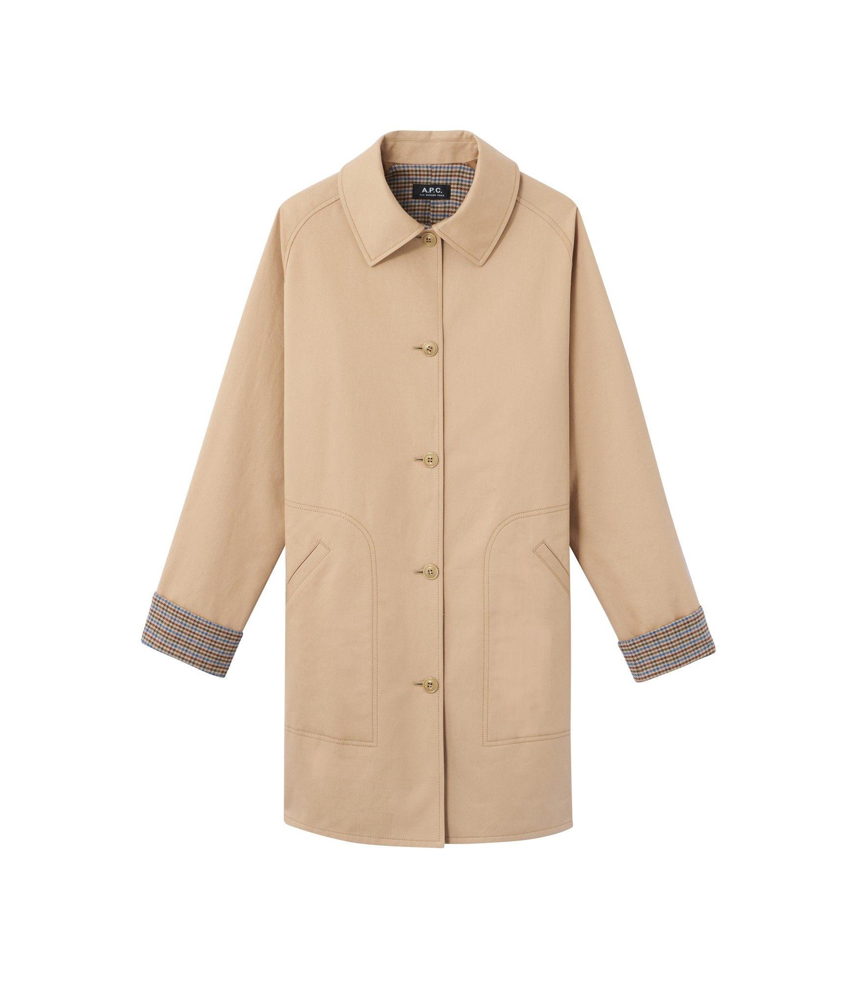 India coat Beige