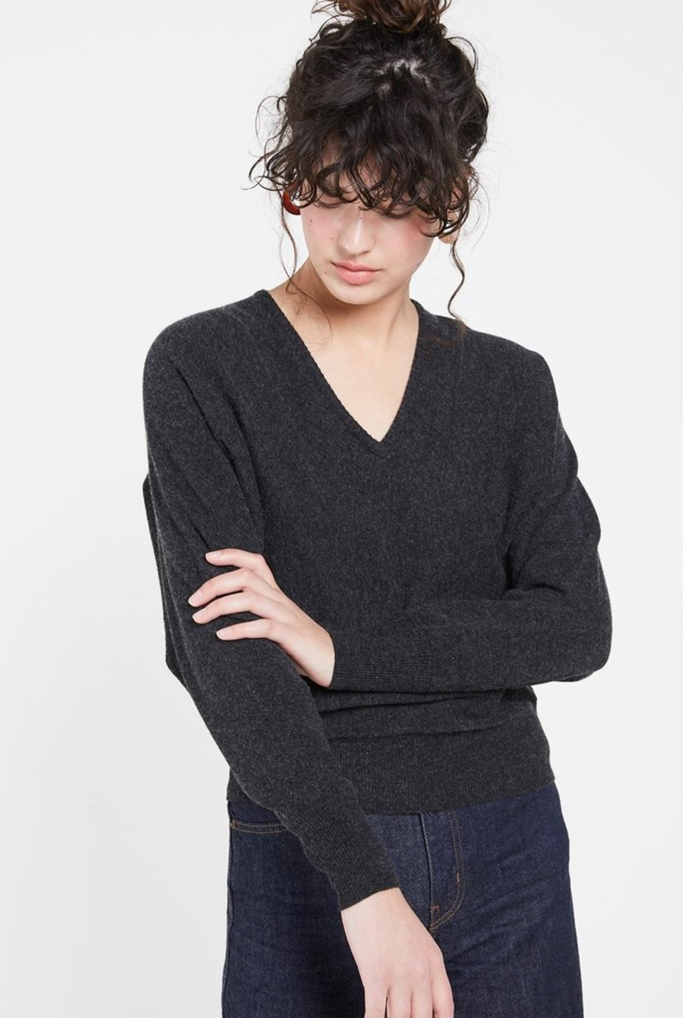 Lumina V sweater mine