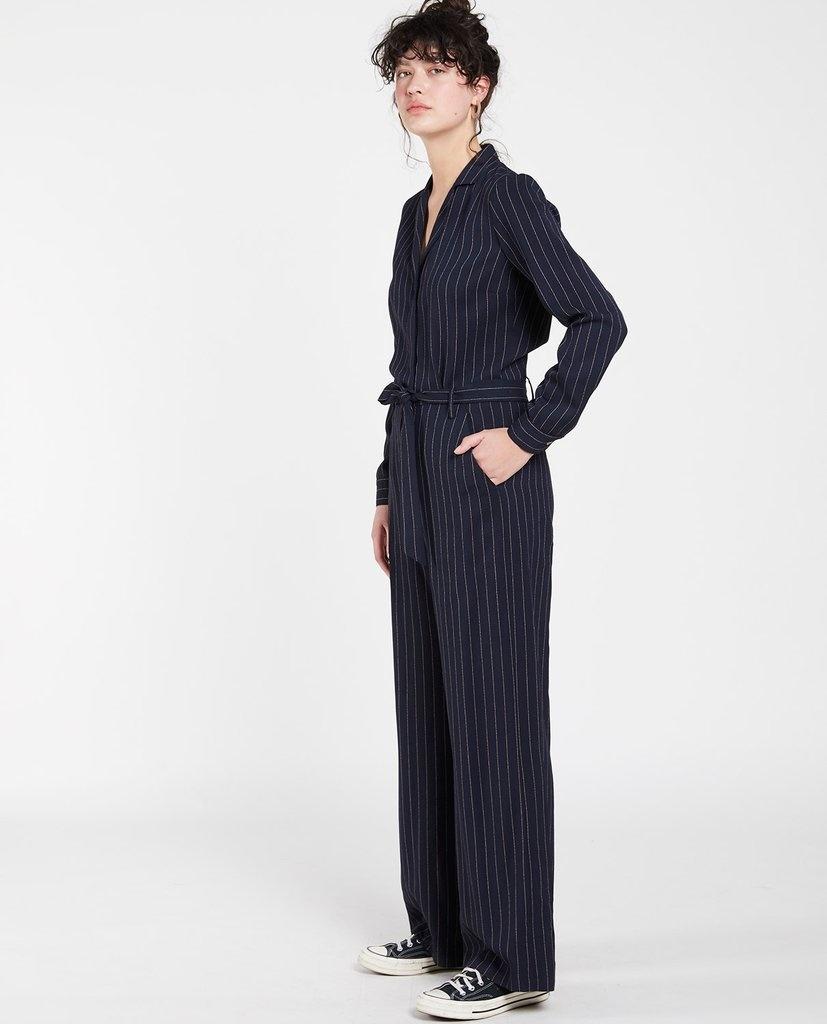 Kintaro jumpsuit stripe Navy