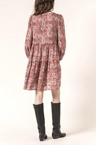 Milie dress Cachemire print