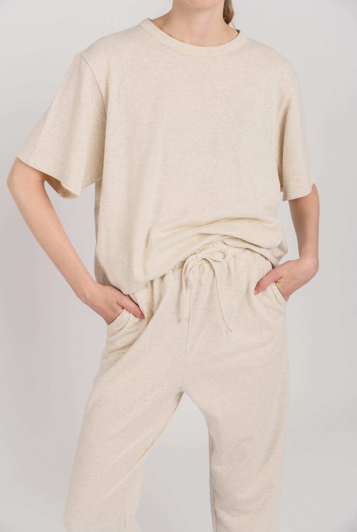 Large Jimi t-shirt Cream