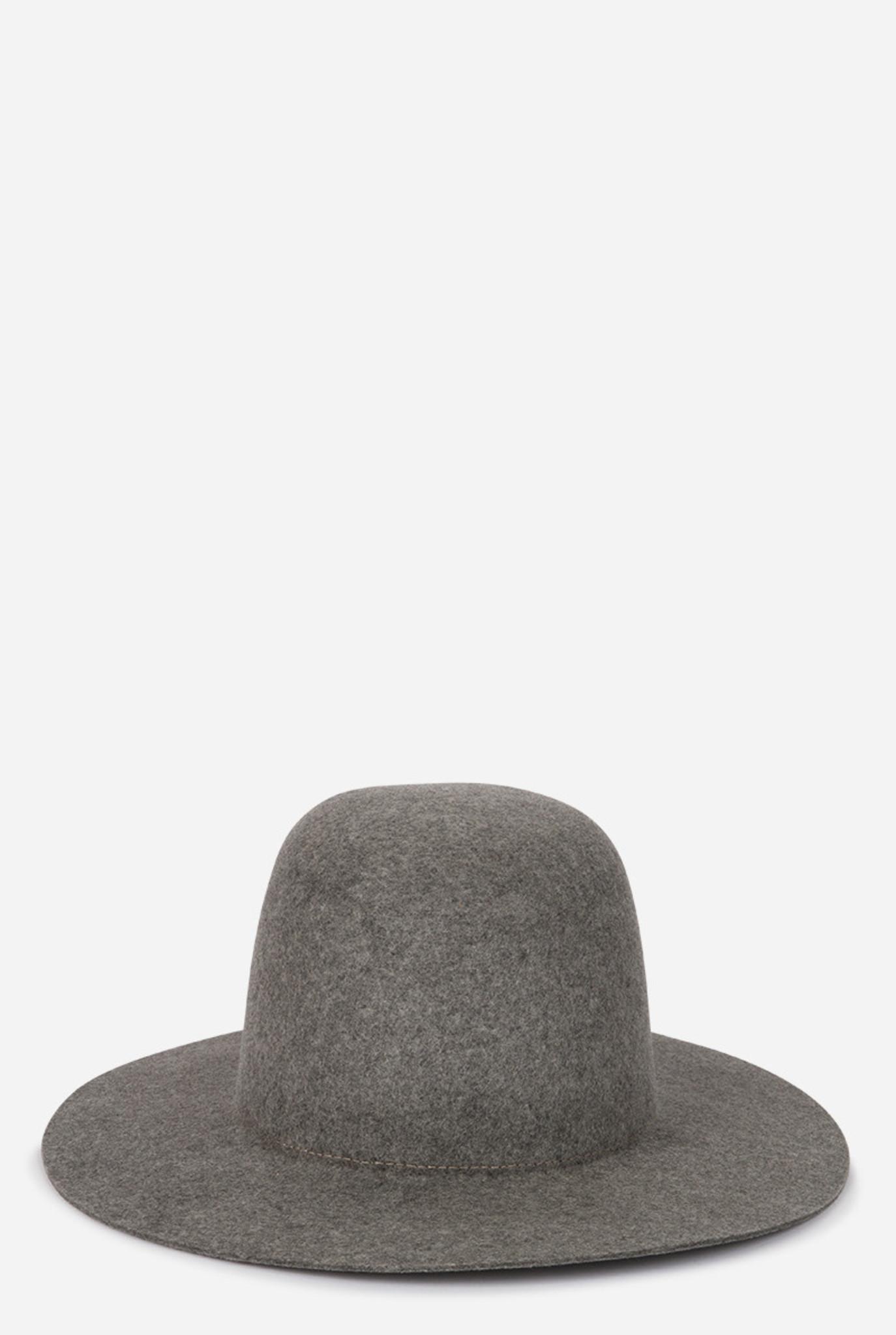 wool hat grey melee