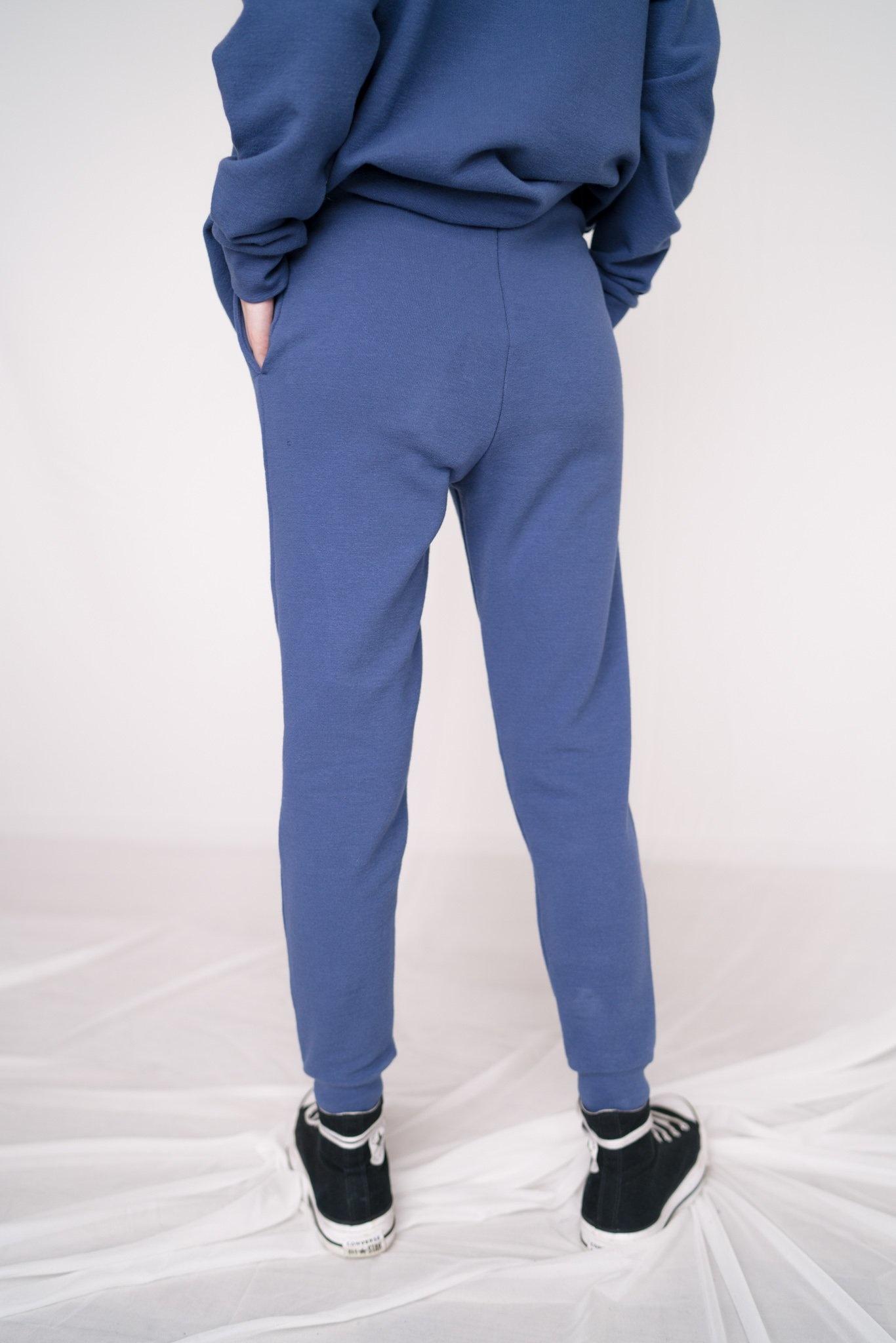 Classic jogging pants Navy Peony
