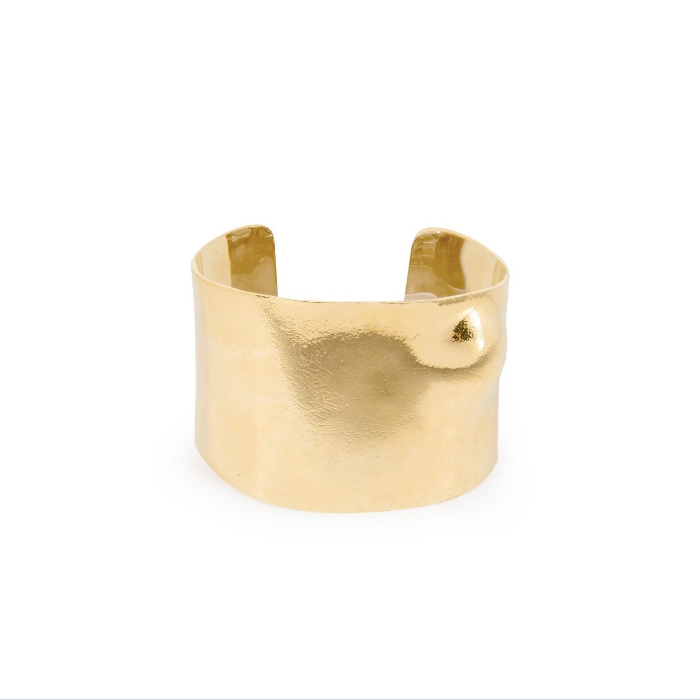 Embrace cuff Bracelet Goldplated