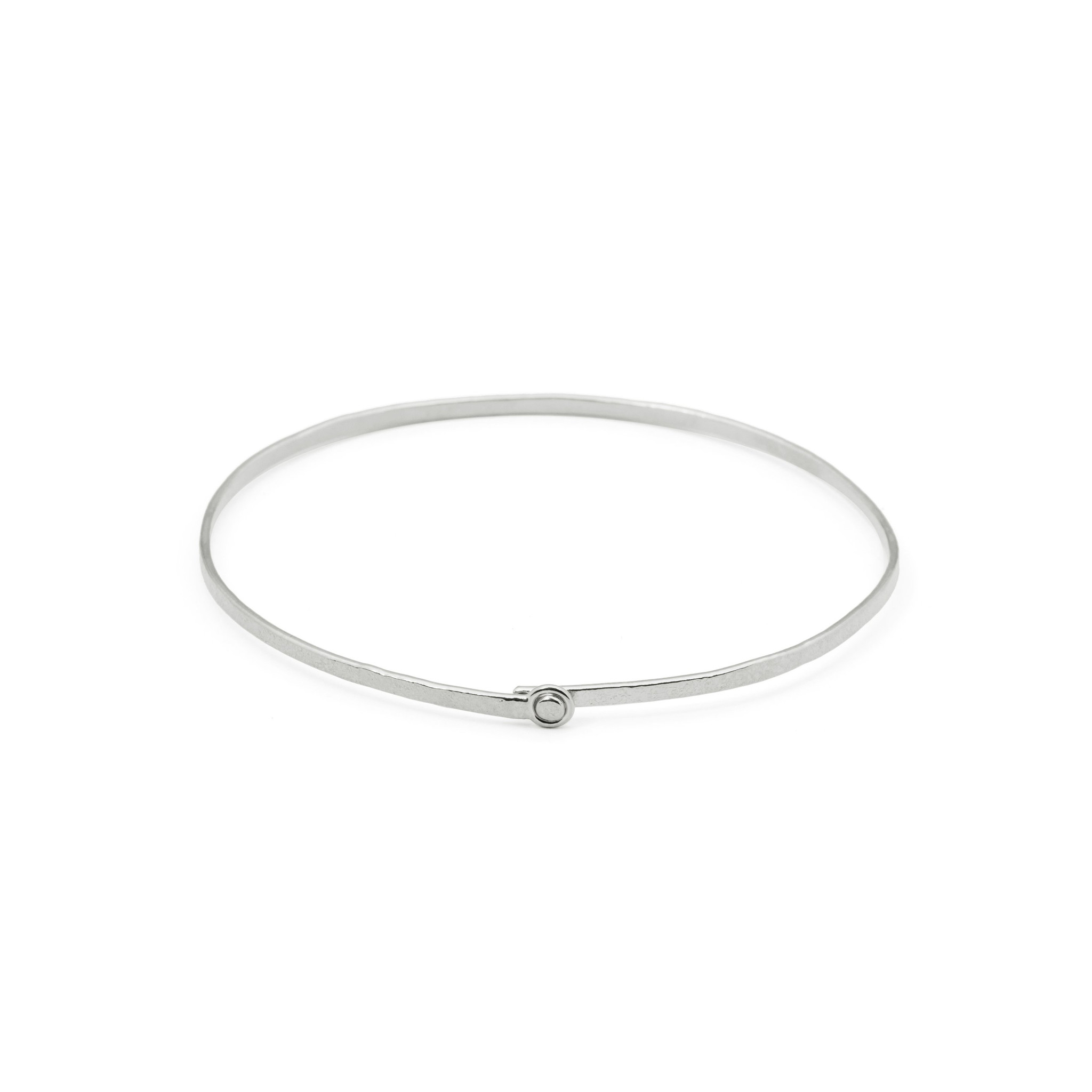 Delicate bracelet with clasp Silver
