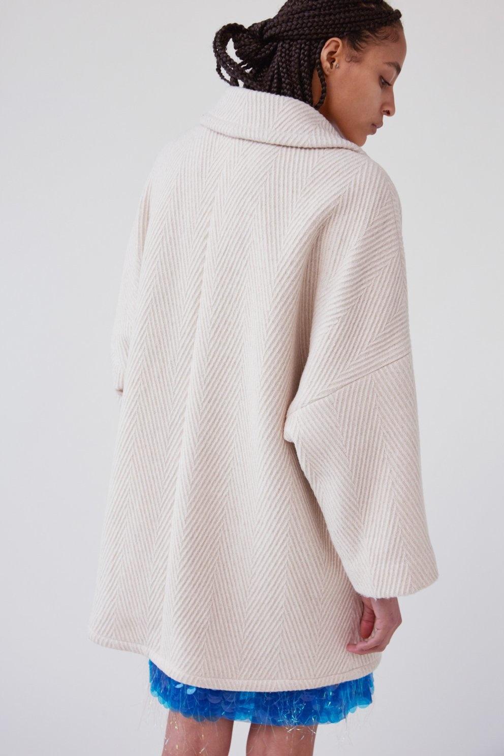 Husk coat Off White