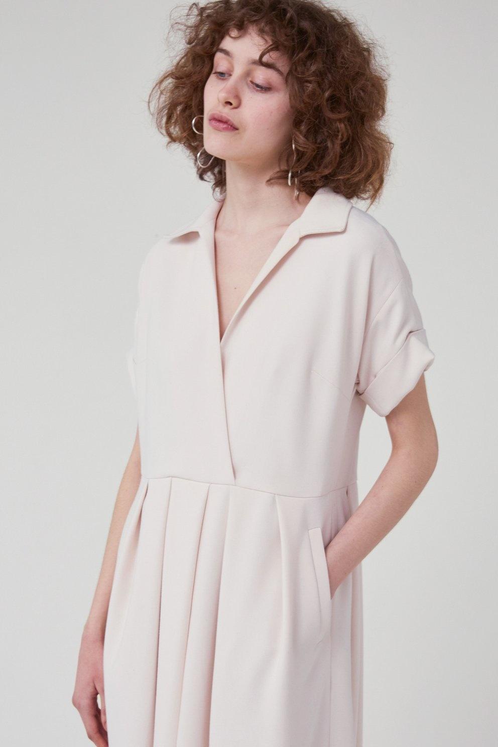 Tempo dress Ivory