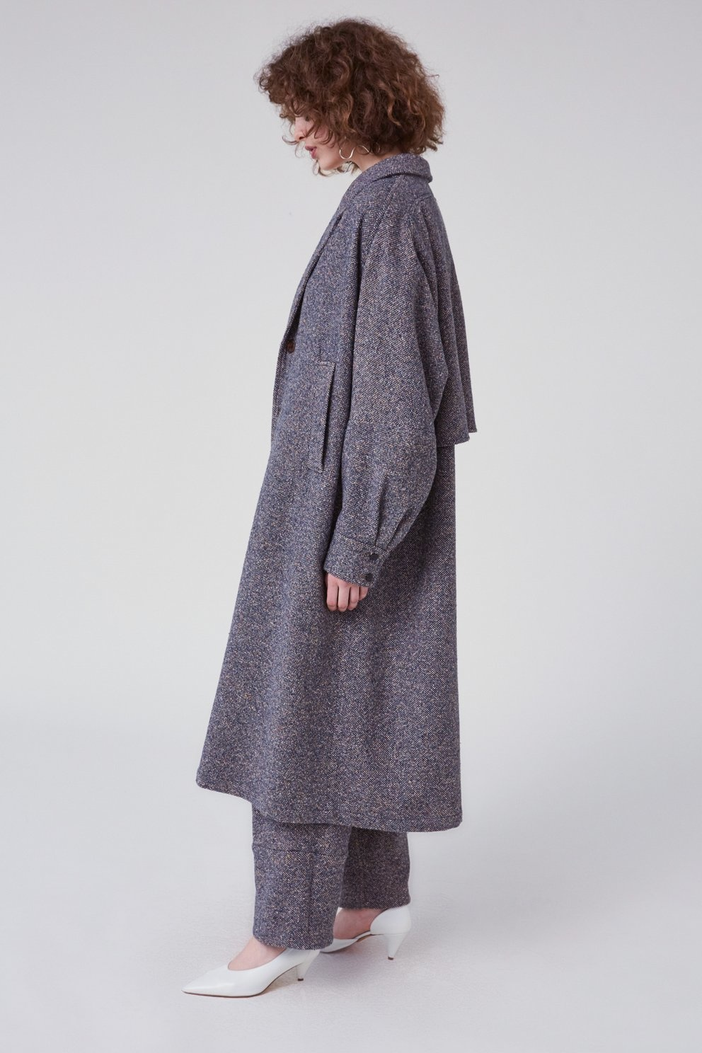 Wander trench blue
