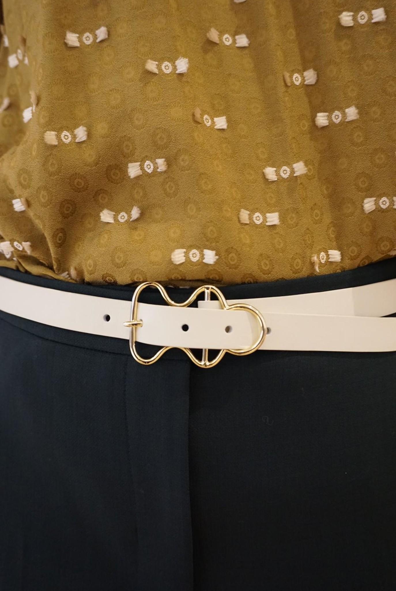 Gildert belt White