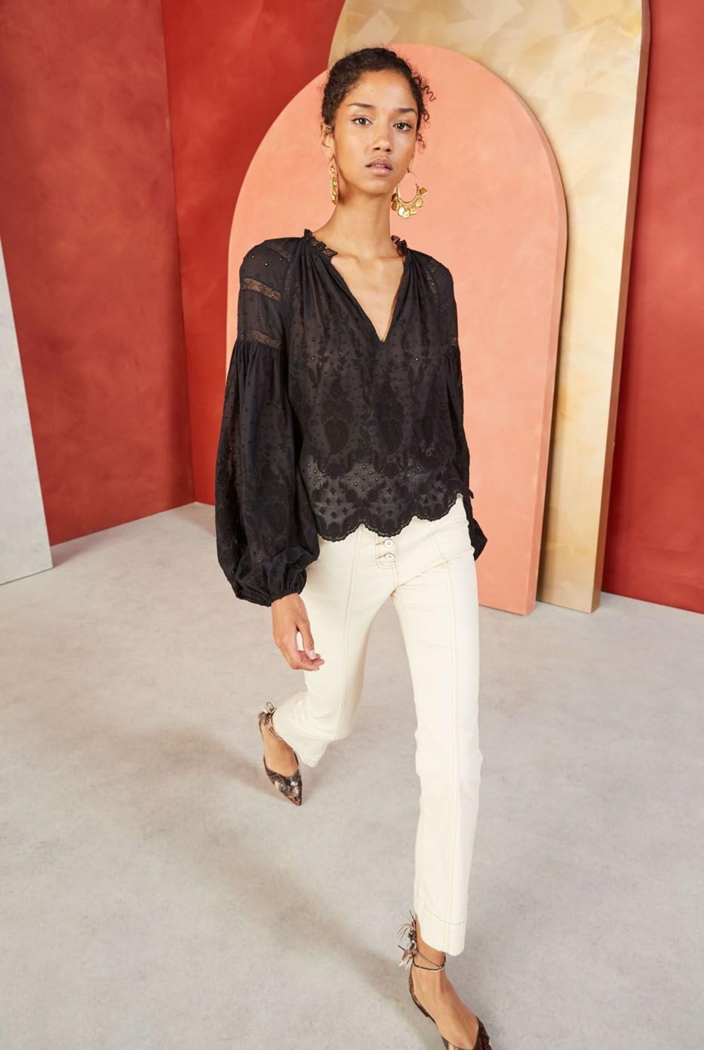 Harper blouse Black