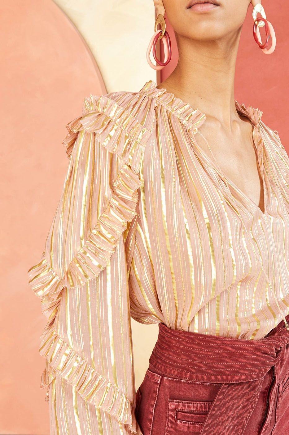 Lucinda blouse Rose