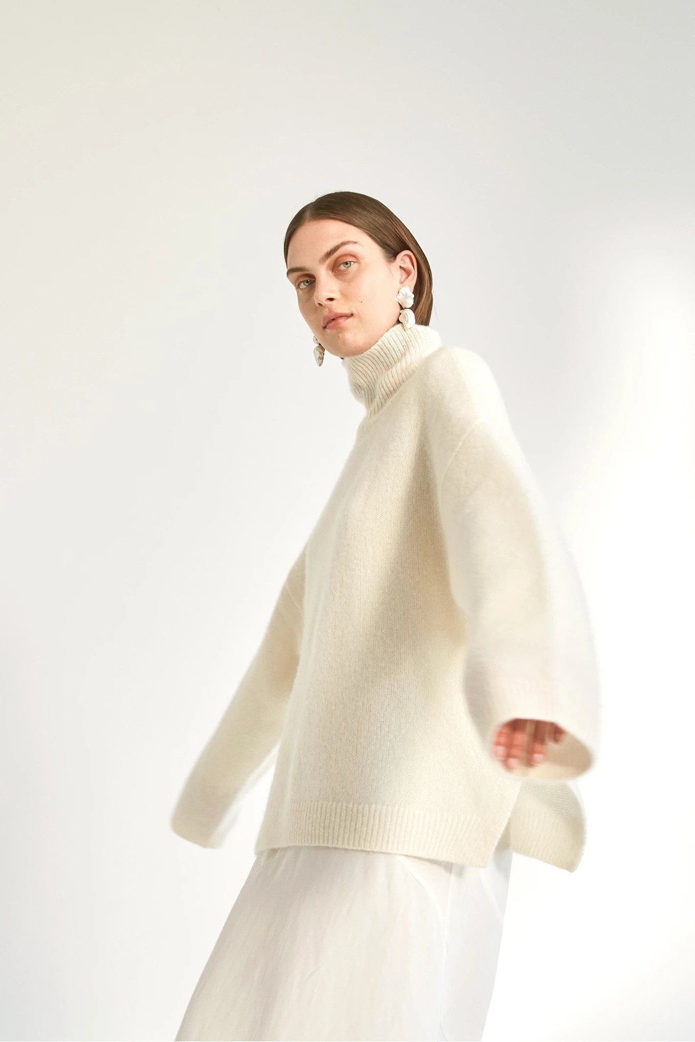 Bez sweater ivory