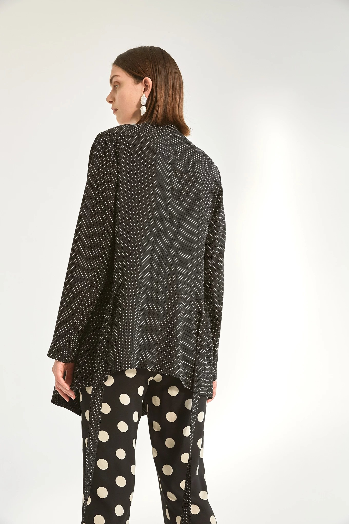 Janis jacket mini dot