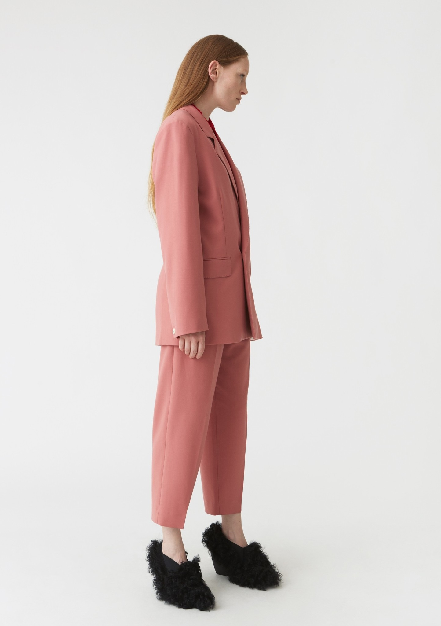 Soft blazer pink