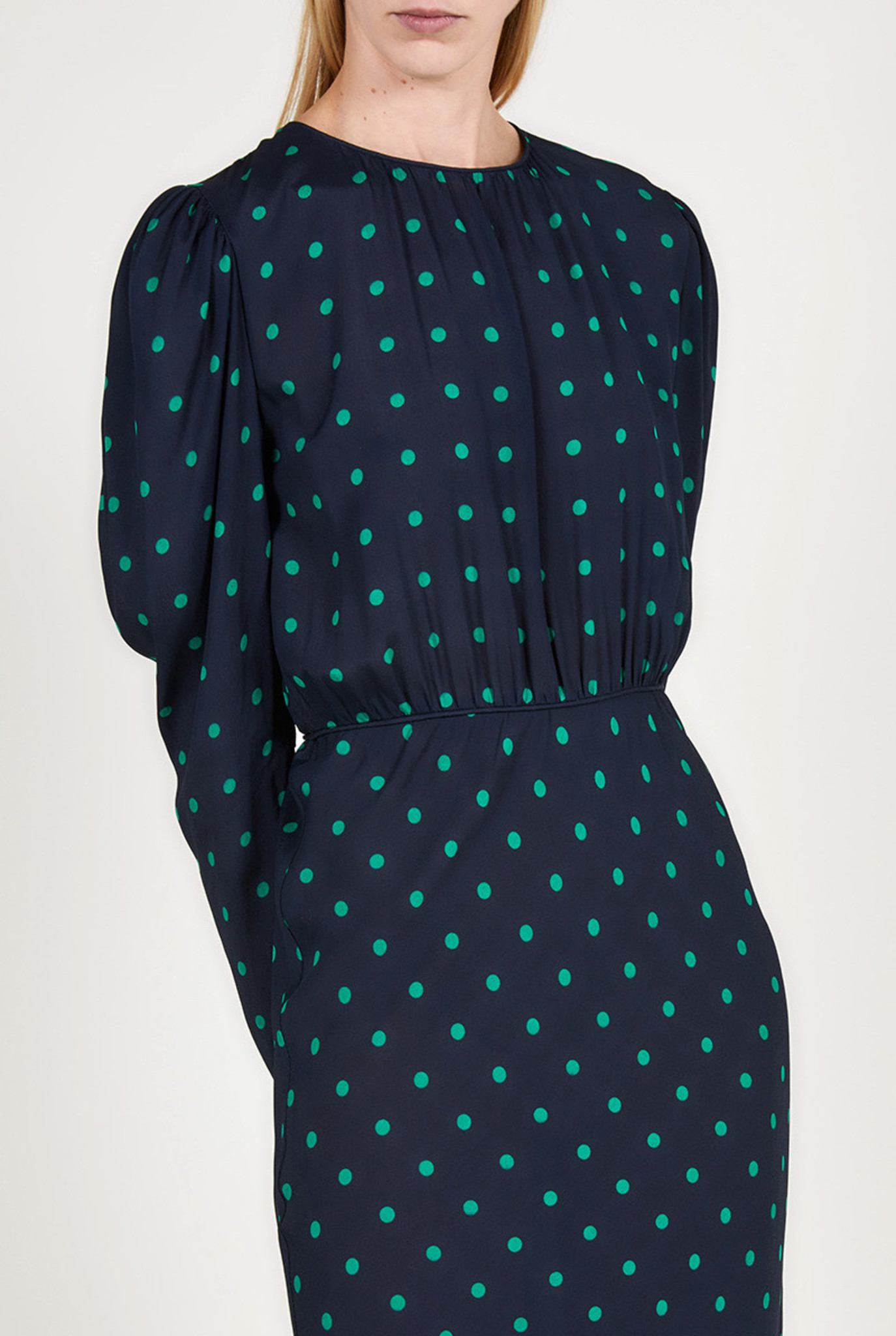 Robe dress Marine blue dots CPH