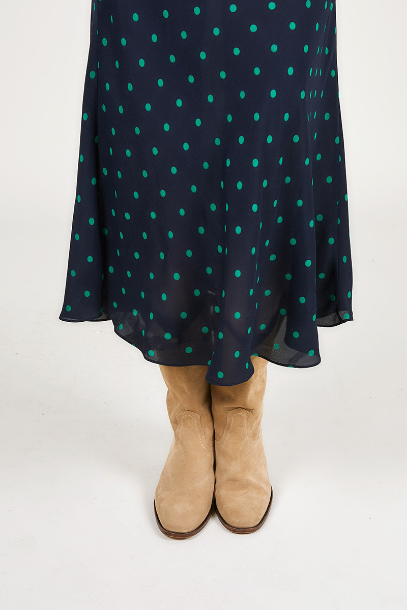 Robe dress Marine blue dots CPH
