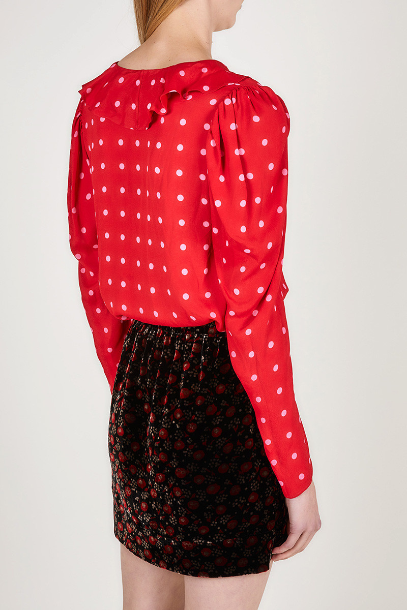 Blouse  Red dots CPH