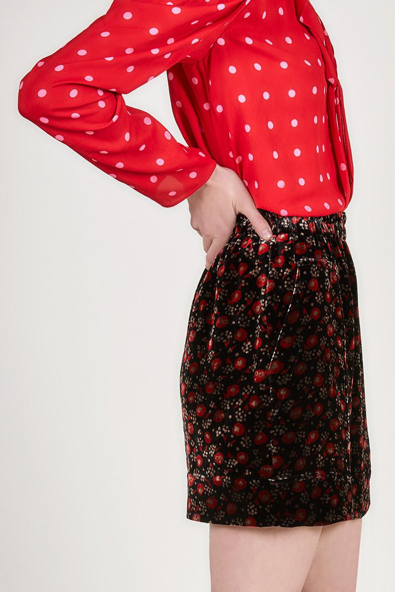Mafalda skirt black print CPH