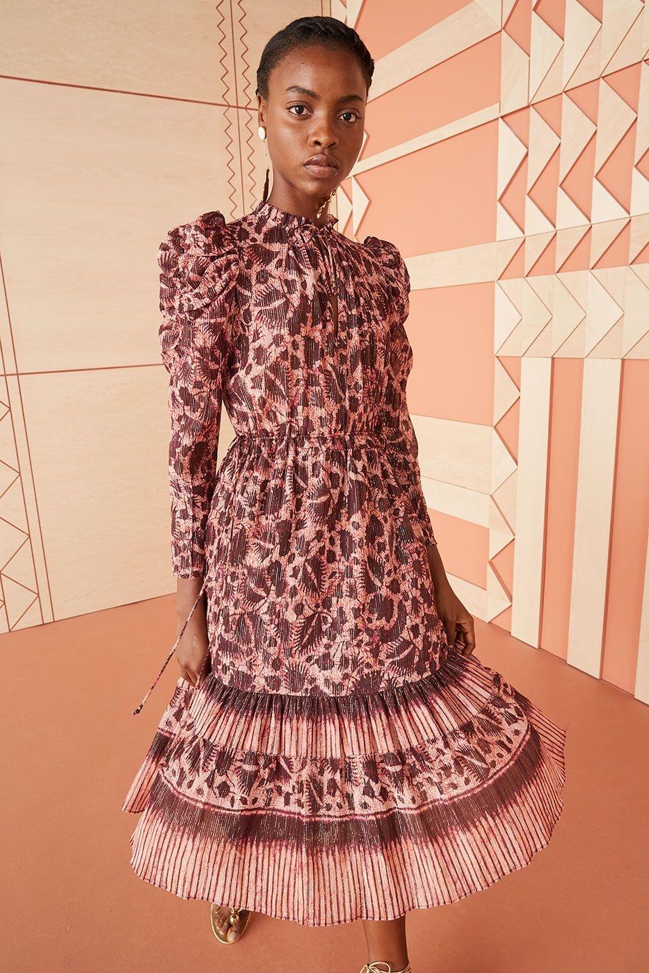 Nadia dress bordeaux