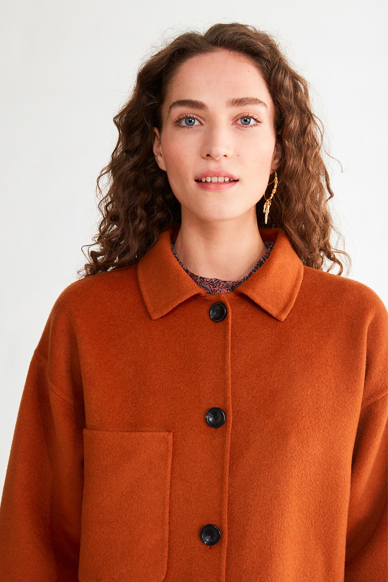 Naive outerwear jacket Cafe