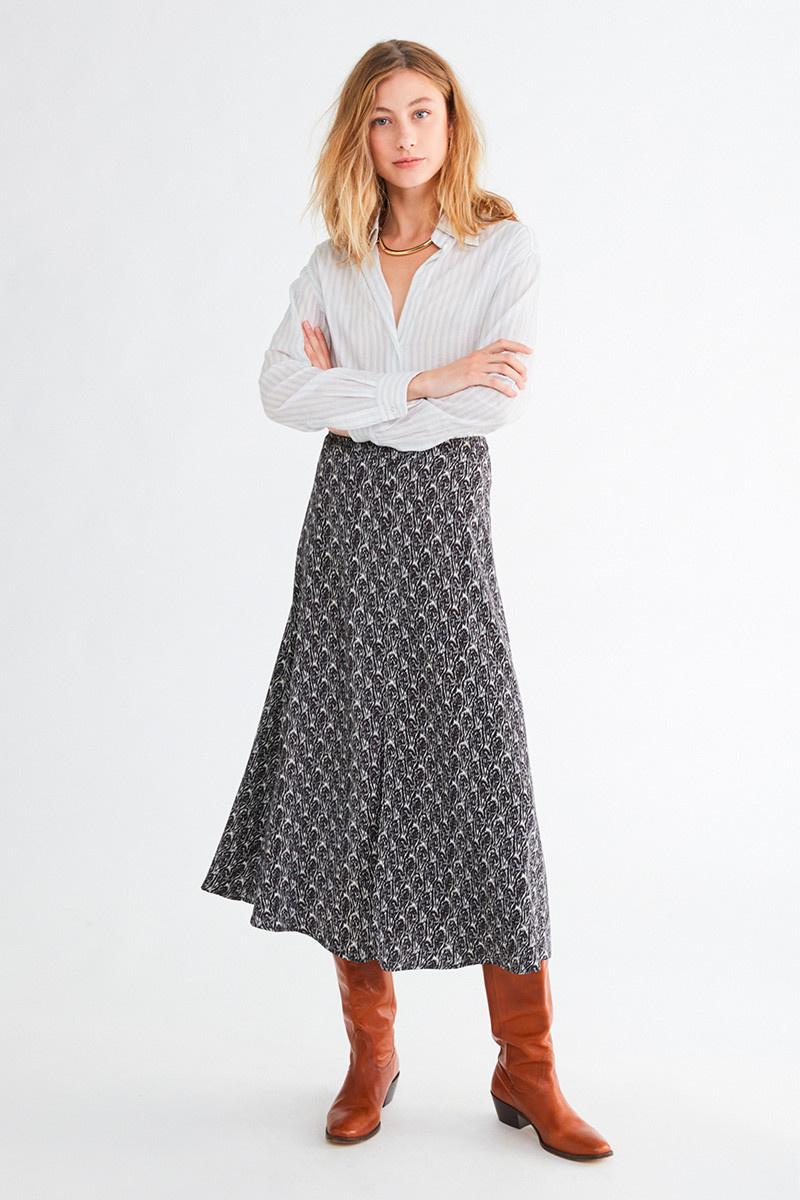 Druyat blouse White/Blue stripe