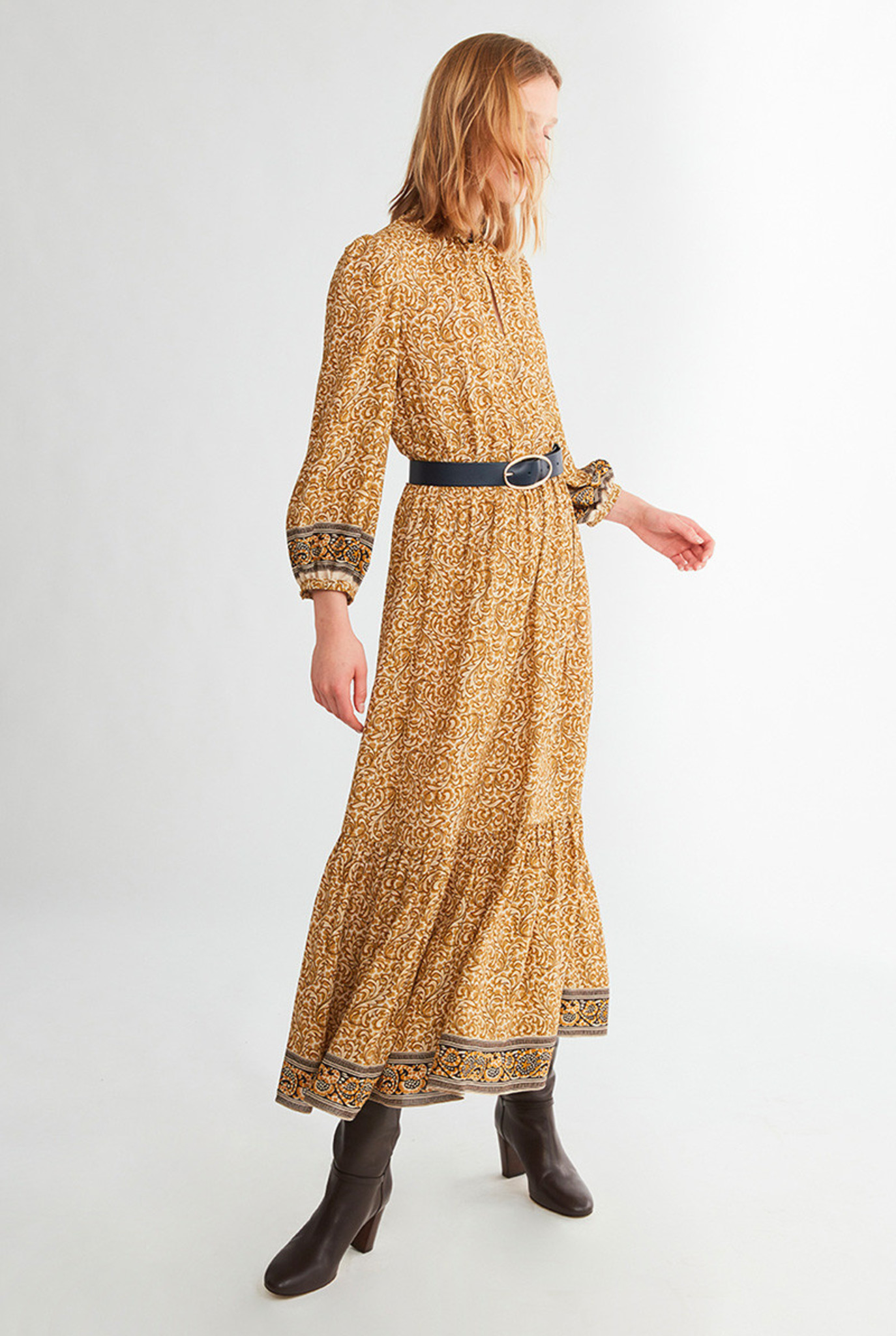 Noisette dress Ochre