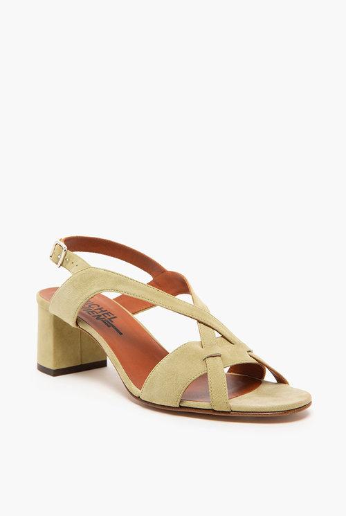 Robby heel Olive green