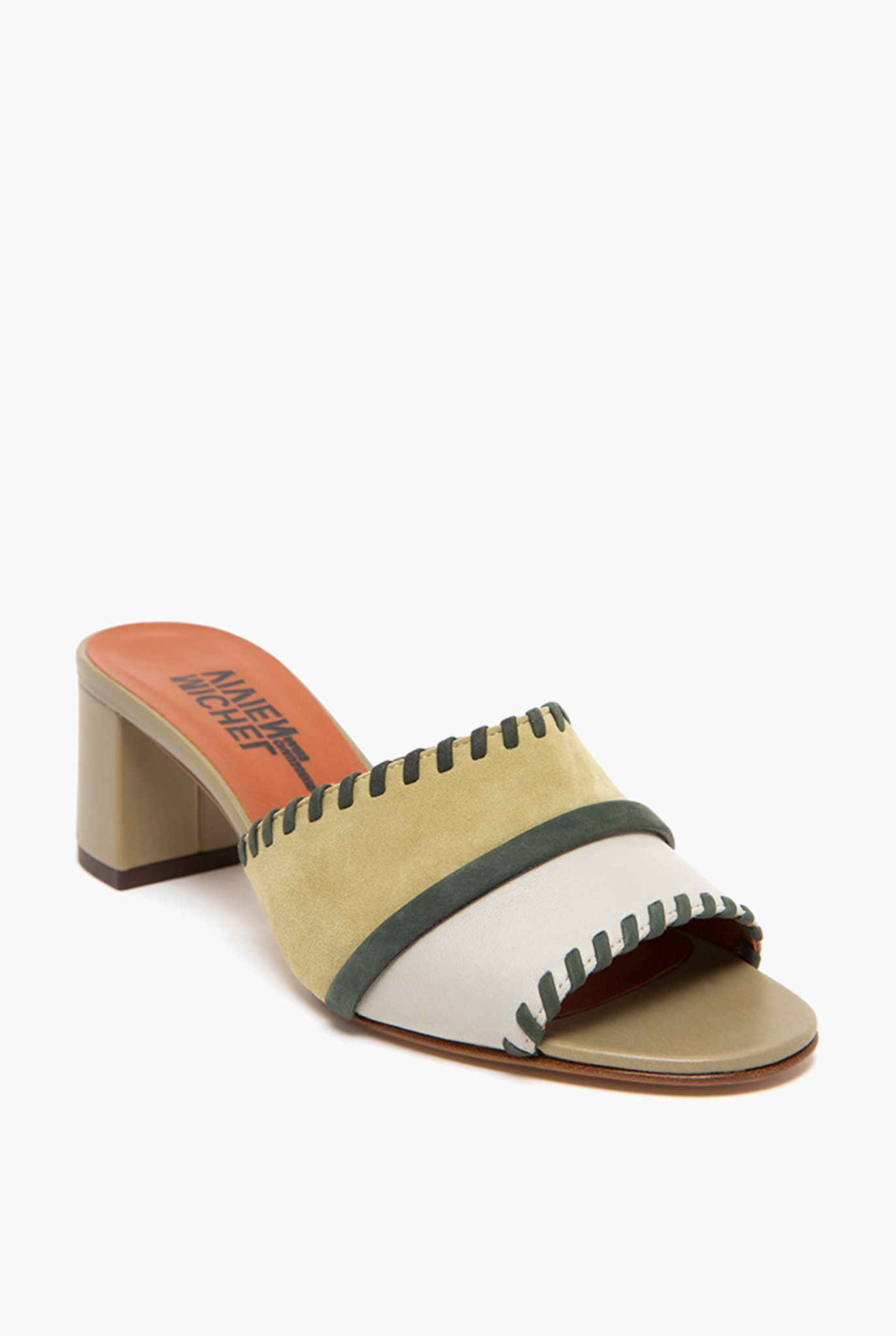 Laon sandal Beige Pistachio