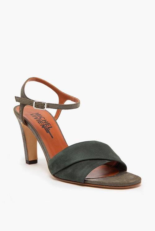 Midi heel Dark green