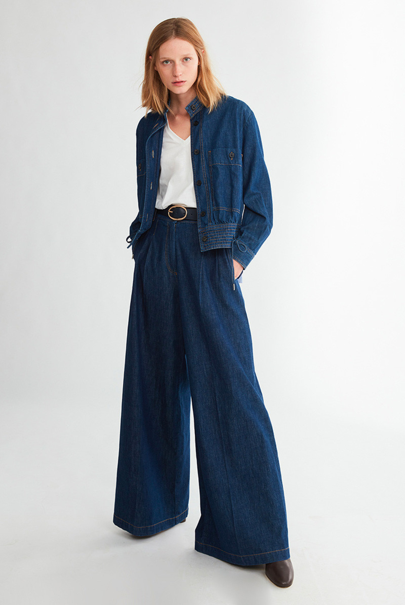 Nagia trouser Denim