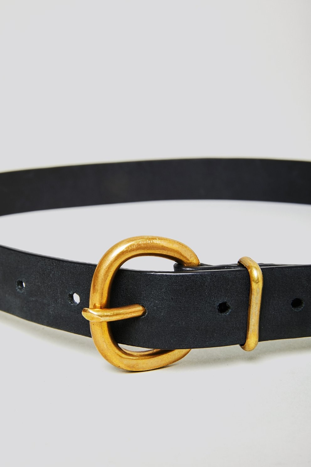 Thin Estate belt Black