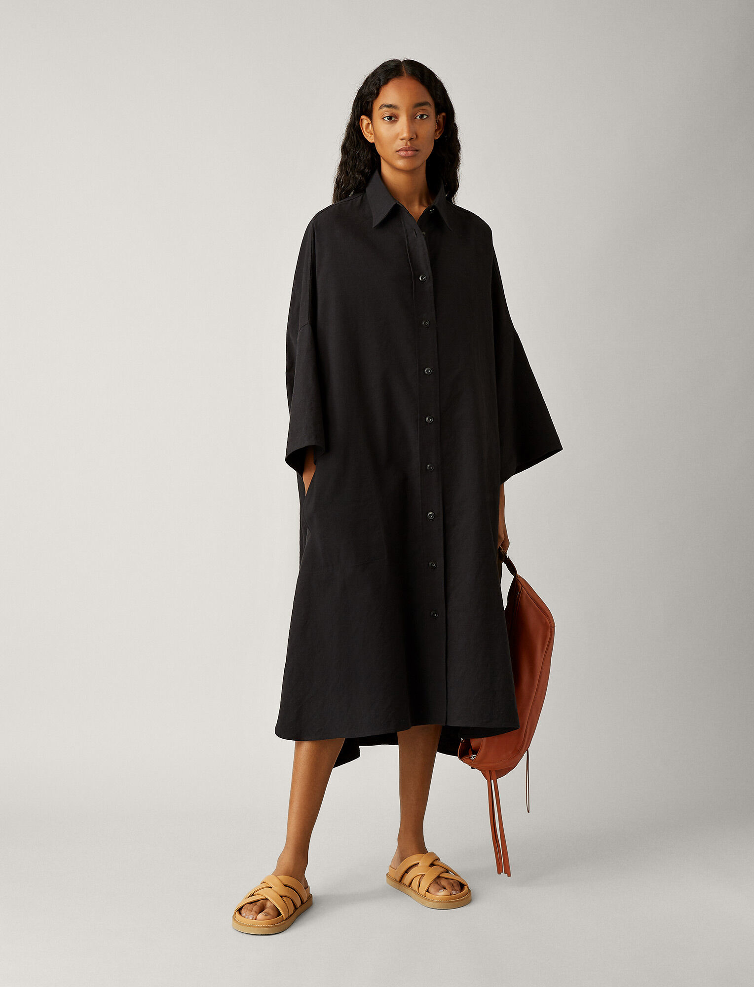 Baker dress Black